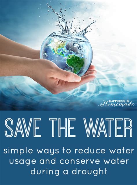 Homemade Christmas Gift Ideas by Save The Water Ways To Help Conserve Water Happiness Is