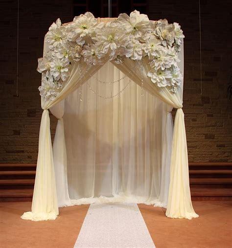 The 25  best Indoor wedding arches ideas on Pinterest