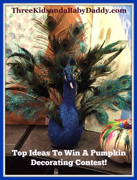 contest themes top amazing ideas to win a pumpkin decorating contest