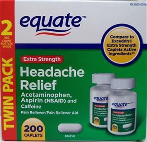 equate extra strength headache relief 200 tabs