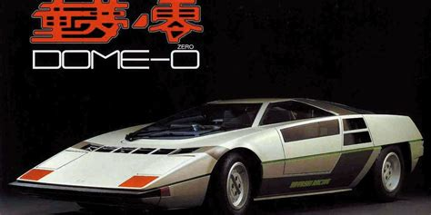 dome arigato japans forgotten supercar   wonderful wedge