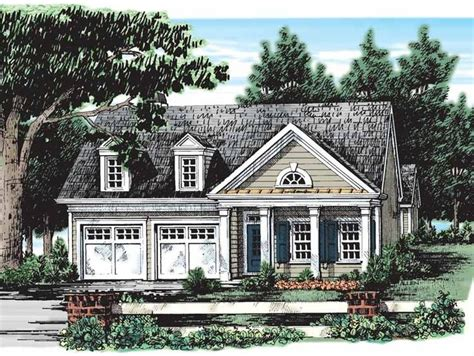Eplans Cottage House Plan by Eplans Cottage House Plan One Story 1437 Square