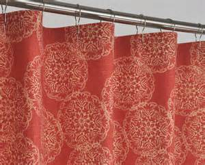 78 rust shower curtain 72 x 78 rust by pondlilly