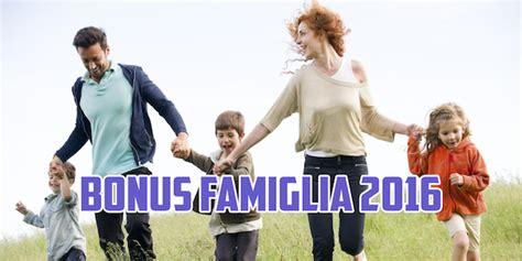 Bonus Famiglia 2016   bonus famiglie numerose 2016 500 euro al mese