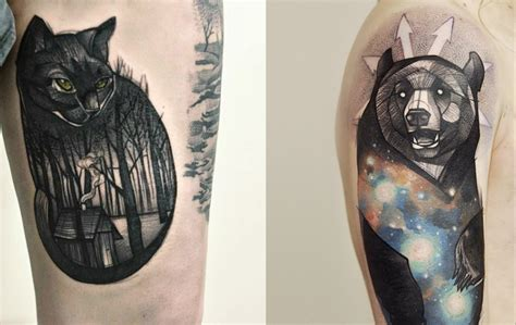 best animal tattoos 10 artists that create stunning animal portraits