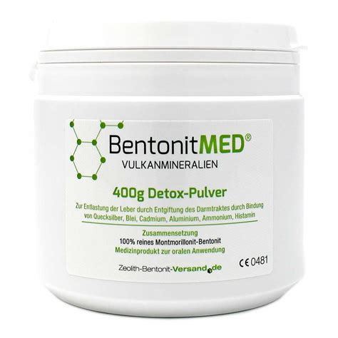 Bentonite Detox Powder by Bentonite Med 174 Detox Powder 400g
