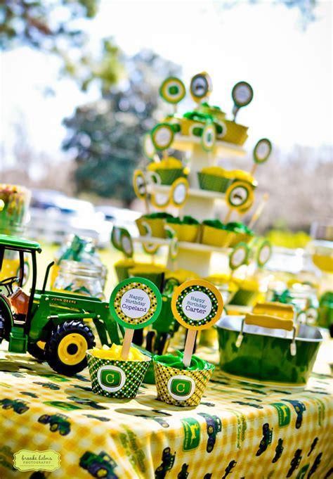 karas party ideas john deere tractor birthday party
