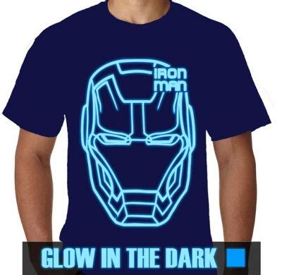 Kaos Distro Logo Captain Ironman kaos glow in the ironman 56 kaos premium