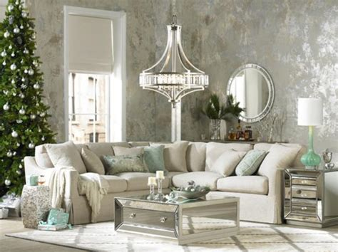 mirrored living room furniture luxury look living room mirrored furniture holiday