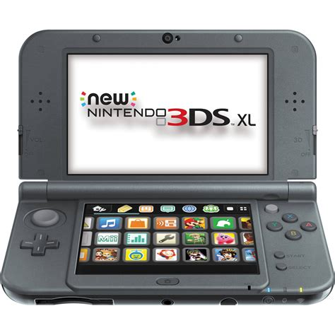 console 3ds xl nintendo 3ds xl handheld gaming system redsvaaa b h photo