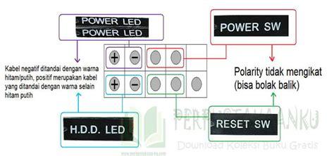 Motherboard Varro G41 V R3 front panel motherboard varro g41v r3 tutorial komputer
