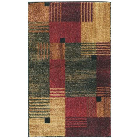 mohawk accent rugs mohawk home alliance multi 1 ft 8 in x 2 ft 10 in