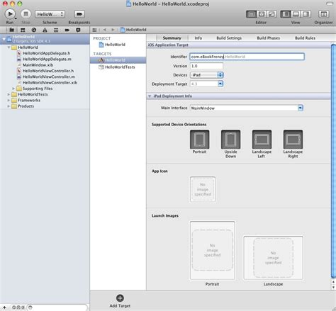 format date xcode creating a simple ipad ios 4 app xcode 4 techotopia