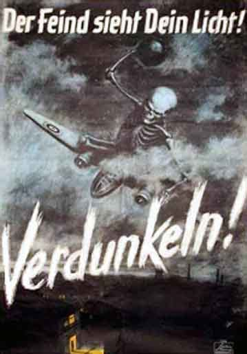 world war 2 posters blackout german wwii poster allied bombing and germany and blackouts