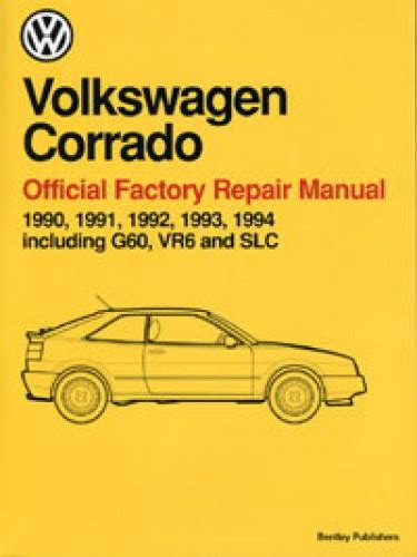 hayes car manuals 1990 volkswagen corrado spare parts catalogs volkswagen corrado repair manual 1990 1994