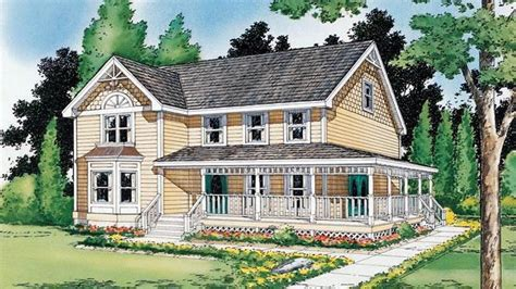 House Plans Farmhouse Style Houses Country Farmhouse