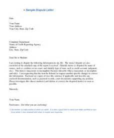 credit dispute letter template printable credit dispute letters free resume templates