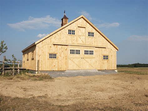 barn plans professional blueprints  horse barns