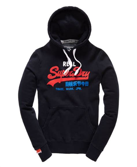 Hoodie Mclaren Supercar Logo superdry be hoodies heren sweaters heren hoodies