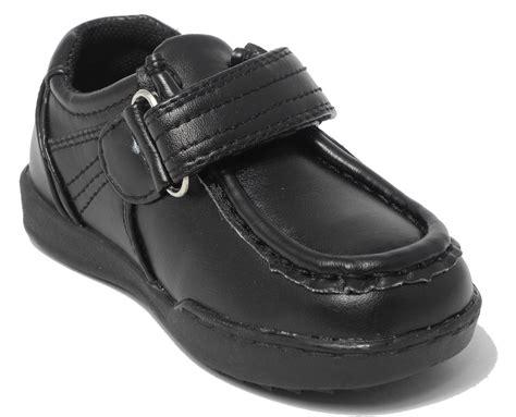 school shoes size 12 boys size 12 black school shoes leather look velcro