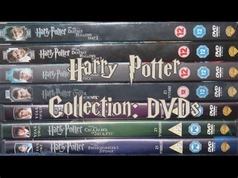 Dvd Harry Potter Collection harry potter collection dvds