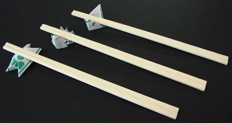 Origami Chopstick Rest - let s talk chopsticks pomai test