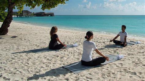 yoga retreat maldives maldives yoga workshops maldives