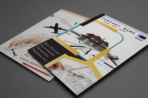 leaflet design psd 29 best free brochure templates