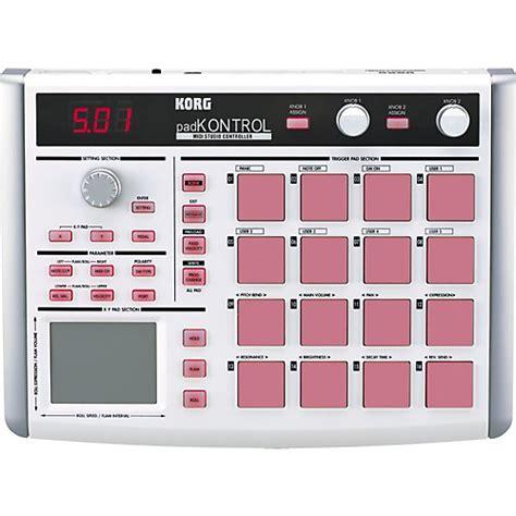 Usb Pad Stick Getar Controller Pc korg padkontrol usb midi controller guitar center