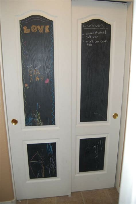 Black Pantry Door by Pantry Doors Only Painted The Inside Squares Of The