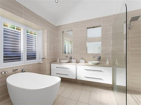 stone coloured bathroom tiles stone beige and white a neutral colour scheme for the