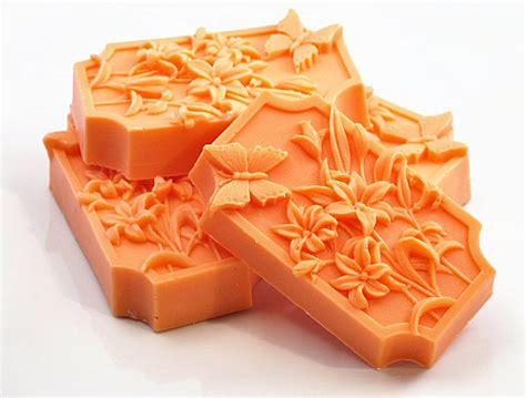 butterfly garden decorative soaps orange by soaprhapsody