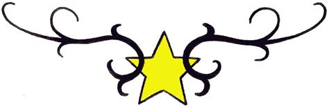 tribal star tattoo designs tattoos shooting and nautical designs
