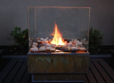 27 Wonderful Glass Fire Pit Diy Pixelmari Com Firepit Glass