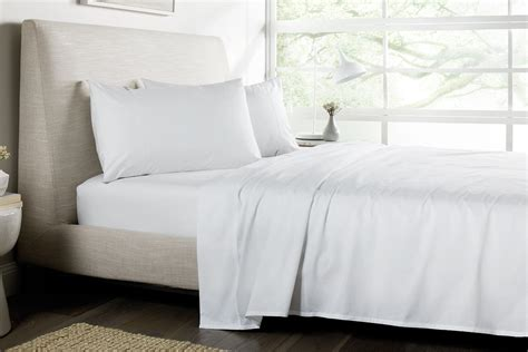 white bed sheets sheridan 500tc superfine standard sheet set