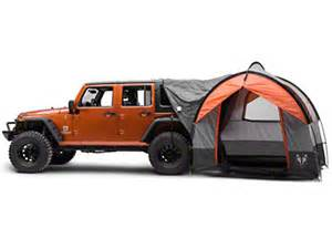 Jeep With Tent Rightline Gear Wrangler Gear Tent With Vehicle Attachment