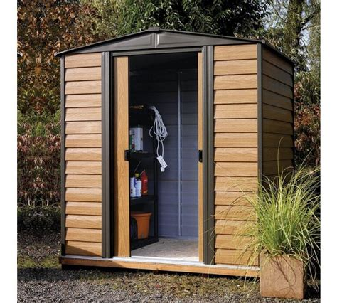 Argos Metal Shed by Buy Rowlinson Woodvale Metal Shed 10ft X 8ft At Argos Co