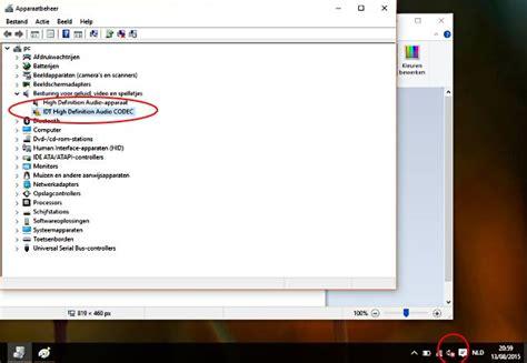 codec imagenes windows 10 idt high definition audio windows 10 probleem decomputer be