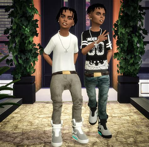ebonix sims 4 child my sims 4 blog child mags jeans conversion deco by