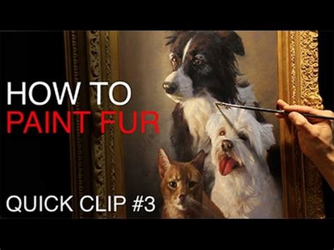 bob ross paintings of animals painting pet portraits how to paint fur