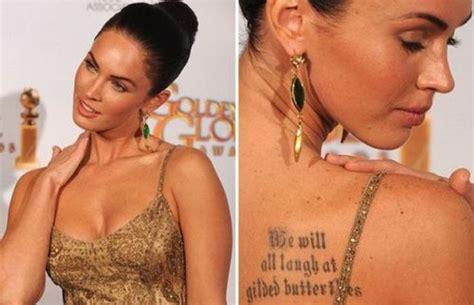worst celebrity tattoos tattoos