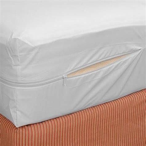 Fabric Mattress Cover by Buy Home Collections Zippered Fabric Mattress Cover