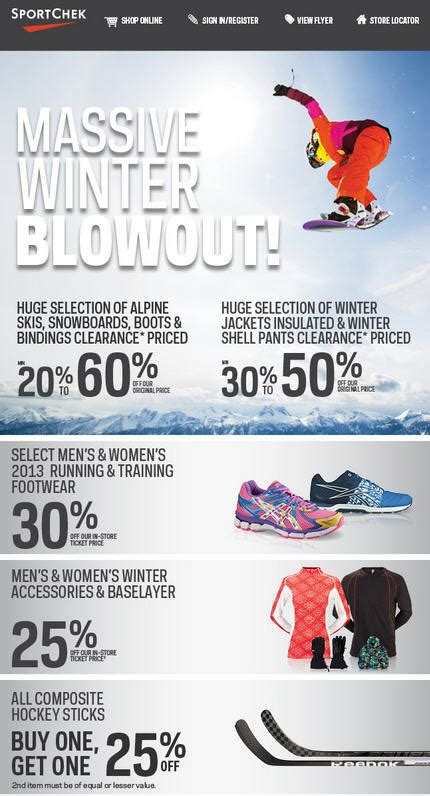 Op2672 Buy 1 Get 1 Free Promo Baselayer Sleeveless Kode Bimb3149 3 sport chek winter blowout jan 29 feb 10 edmonton deals