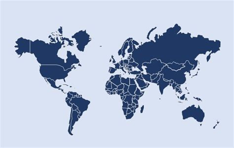 Here S A Beautiful Editable World Map For Powerpoint Free World Map Powerpoint Template