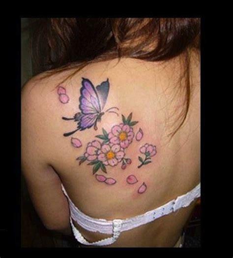 imagenes de mariposas y flores para tatuajes tatuajes de mariposas y flores para mujeres fotos de los