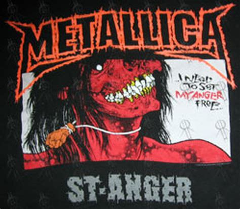 Tshirt St Anger Black Metallica metallica st anger 2004 tour crew only t shirt