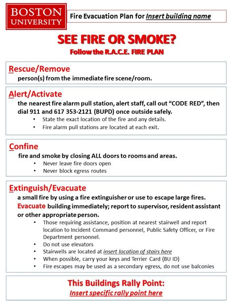 fire safety resources environmental health safety