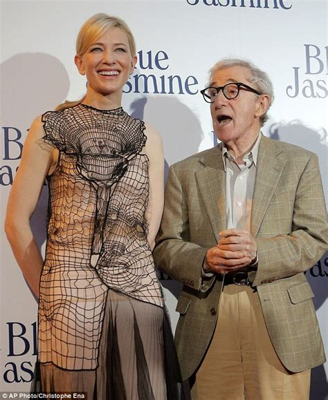 cate blanchett woody allen cate blanchett opts for nude christopher kane gown for