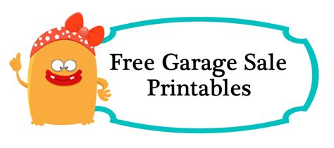 Free Printable Garage Sale Price Tags by 8 Best Images Of Price Tags Printable Coloring Pages