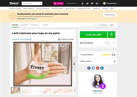 fiverr gig give you a best fiverr gigs in 2016 for marketers bloggers and